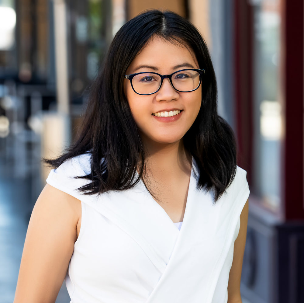 Headshot of Marissa Lee, an Asian American woman