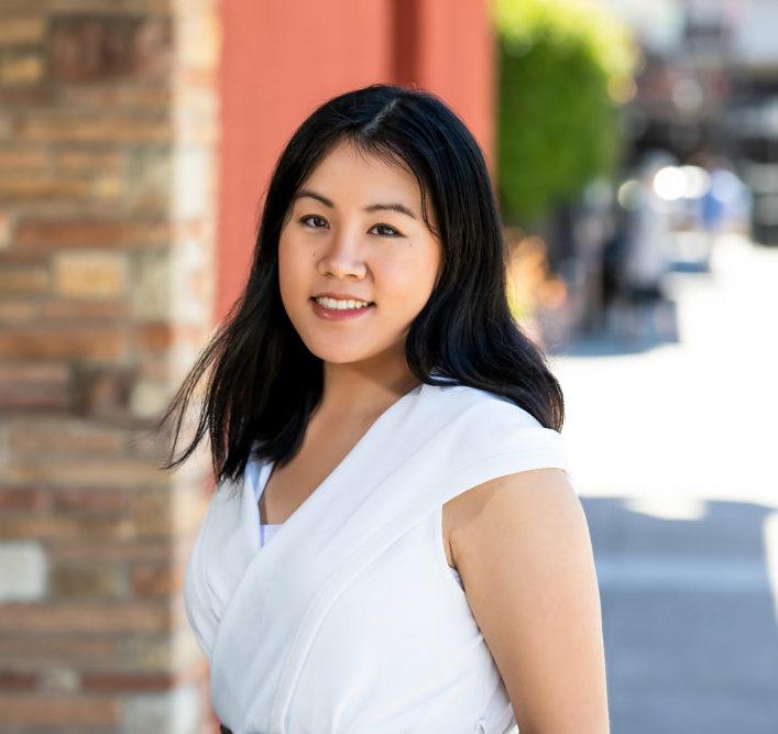 Headshot of Marissa Lee, an Asian American woman
